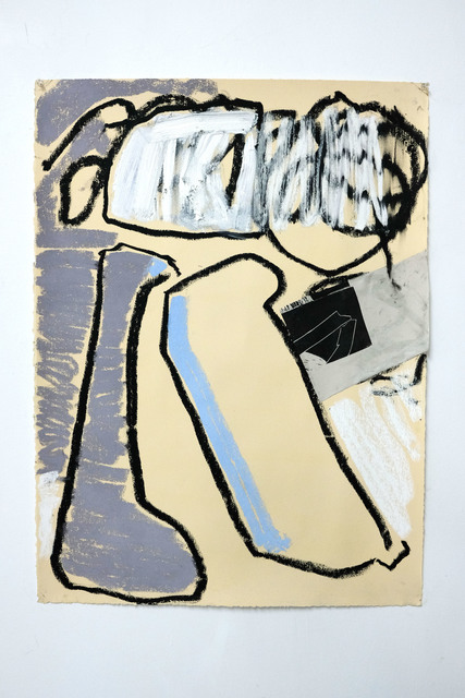 Taylor O. Thomas, 'Paper in wads', 2018, Painting, Oil stick, pastel, ink oil, vellum on paper, Deli Grocery
