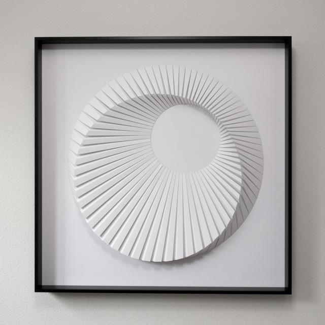 , 'Eclipse C White,' 2018, Contempop Gallery