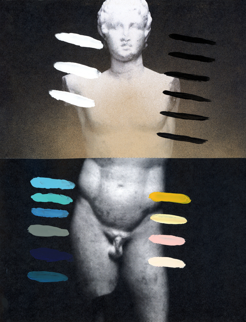 , 'Composition on Panel 26,' 2015, Joseph Gross Gallery