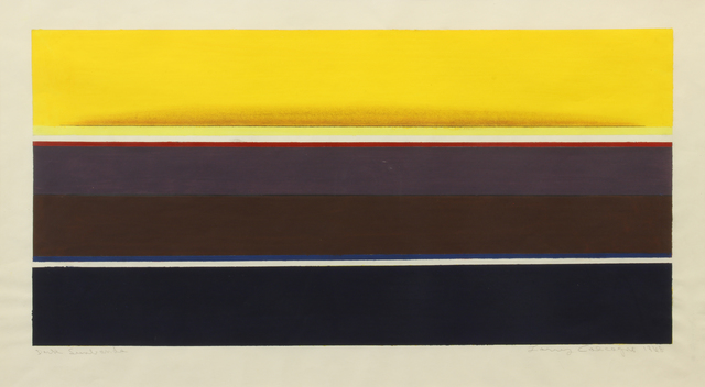 , 'Dark Sunbands,' 1968, Addison Rowe Gallery