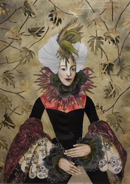 , 'Lady Bantum,' 2018, Wychwood Art
