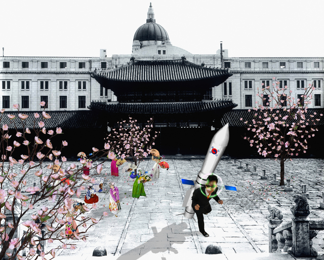 , 'Rocket Launch In The Imperial Palace,' 2009, .M Contemporary Sydney