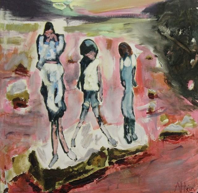 , 'Stepping stones ii,' 2018, Castlegate House Gallery
