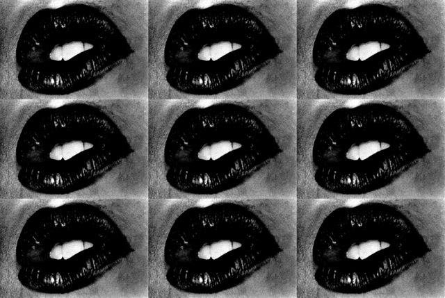 , 'Untitled (Lips 9 Times),' 2001, Hamiltons Gallery