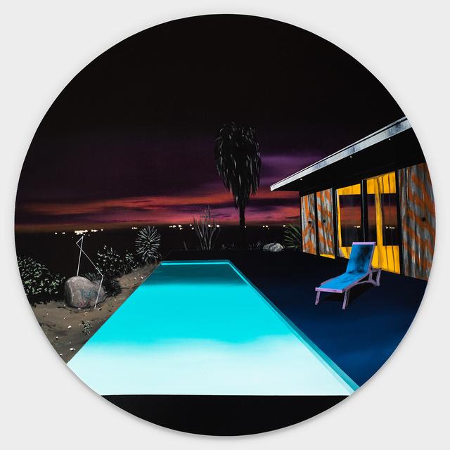 , 'Infinity Poll (Night Scene),' 2017, Rebecca Hossack Art Gallery