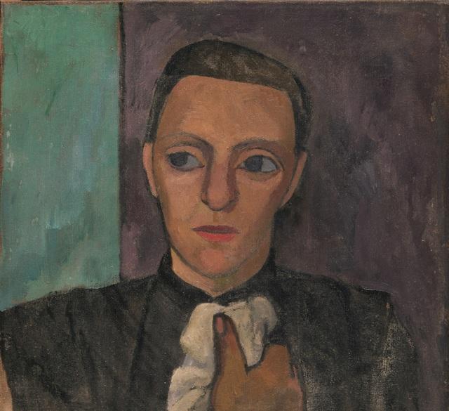 , 'Buste d'une Femme en Noir au Mouchoir ,' Spring 1906, Musée d'Art Moderne de la Ville de Paris