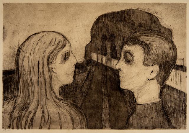 Edvard Munch, 'Attraction II', 1895, David Tunick, Inc.