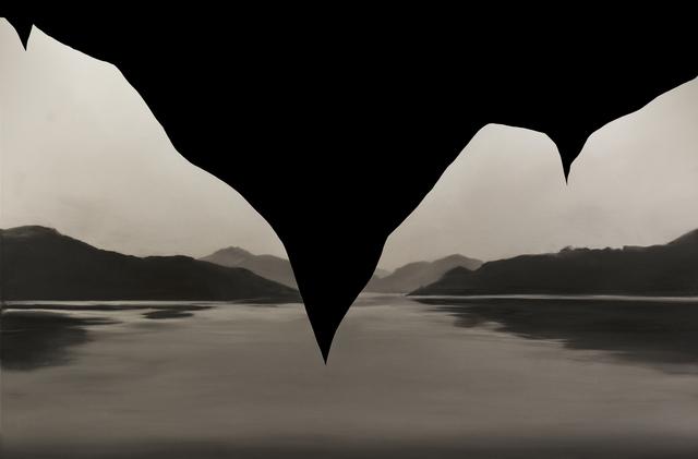 , 'Lamp Black,' 2017, Galerie Sandhofer