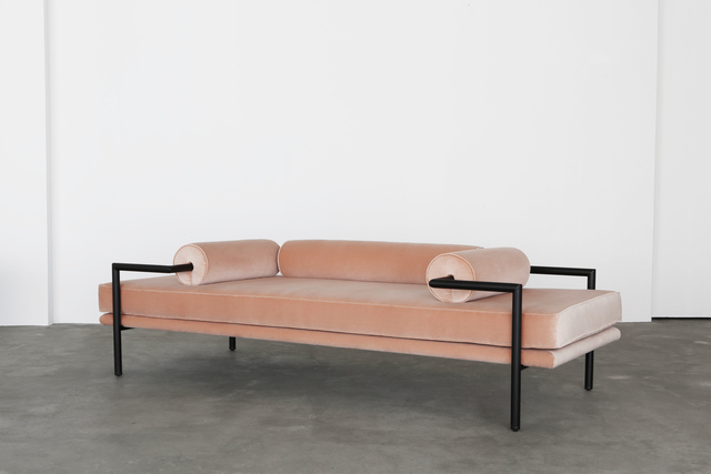 , 'Dorcia Daybed (mohair),' 2017, THE NEW