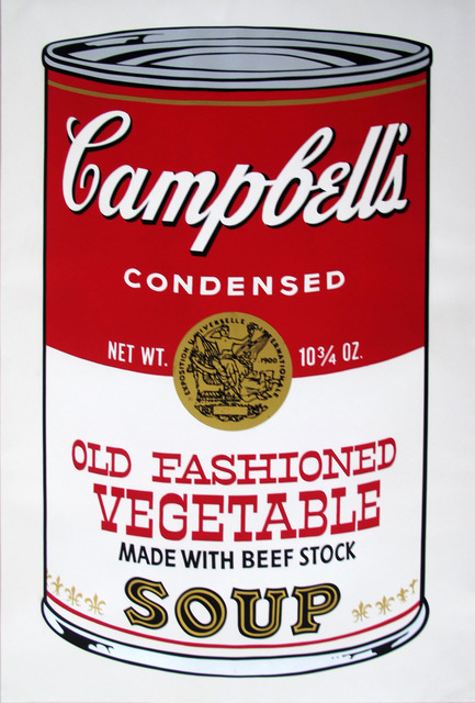 , 'Campbell's Soup II Old Fashioned Vegetable 54 by Andy Warhol,' 1969, Revolver Gallery