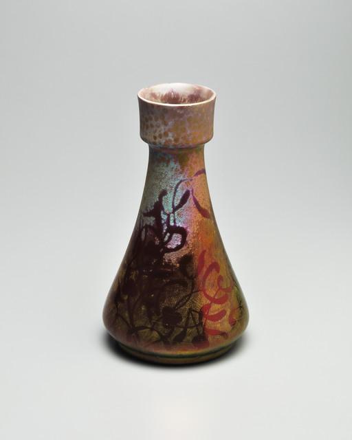 Clément Massier, 'Floral Flames', 1900, Design/Decorative Art, Earthenware, Jason Jacques Gallery
