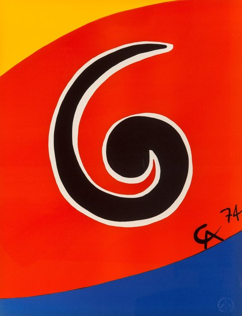 Alexander Calder, 'Untitled, from Flying Colors (five works)', 1975, Heritage Auctions