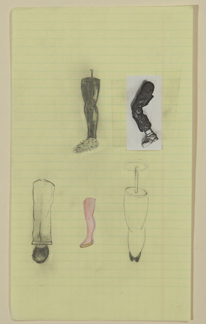 , 'No title (Five leg examples),' 1993, Gagosian Gallery