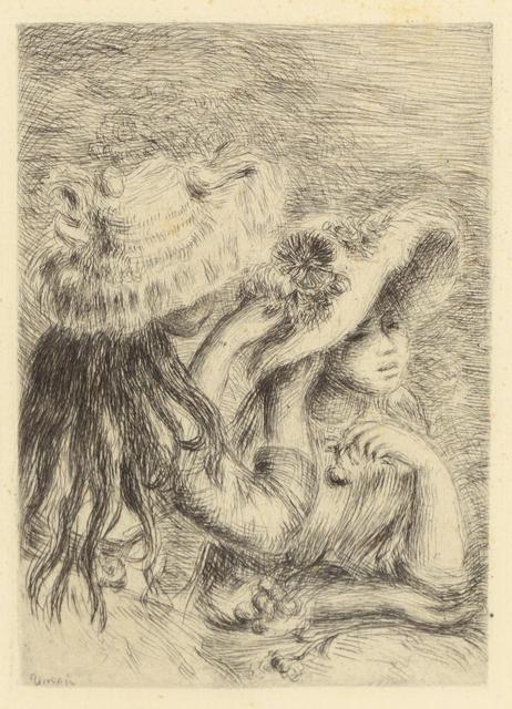Pierre-Auguste Renoir, 'Le Chapeau Epingle' (La Fille de Berthe Morisot et so Cousine)', Heather James Fine Art: Benefit Auction 2018
