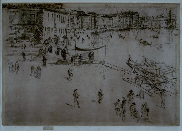 James Abbott McNeill Whistler, 'Riva No. 2, Venice', 1880, Private Collection, NY