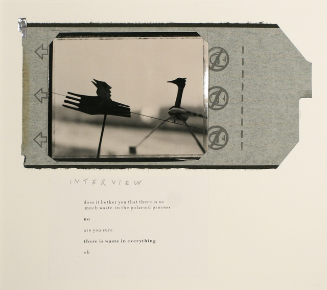 , 'Interview,' 1999, Bruce Silverstein Gallery