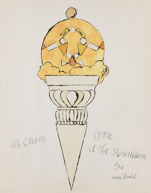 , 'Ice Cream Cone,' 1959, Susan Sheehan Gallery