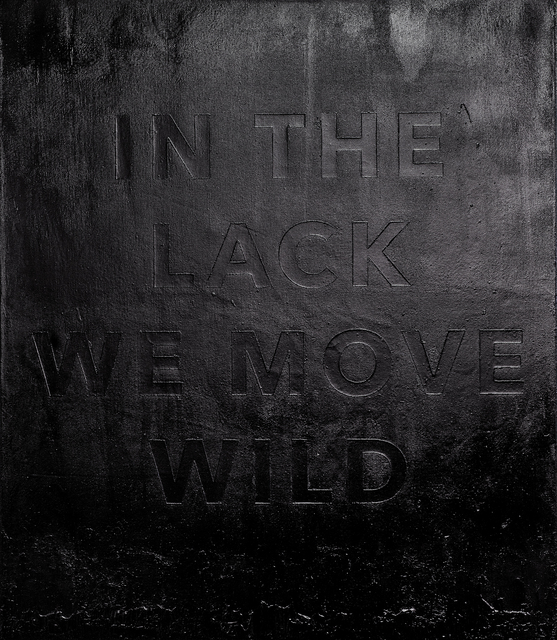 , 'In The Lack We Move Wild,' 2017, Rhodes