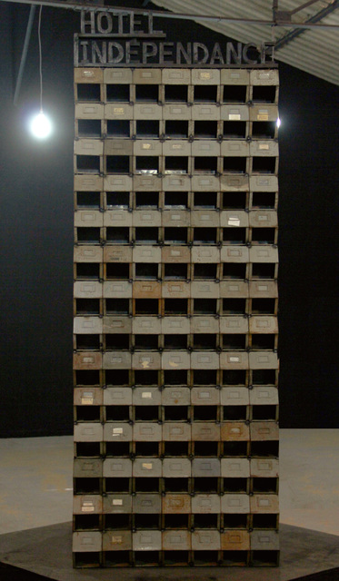 , 'Indépendance Tchao,' 2014, Galerie Nagel Draxler