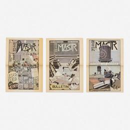 Kerry James Marshall, 'Rythm Mastr (three comic newspapers),' 1999, Wright: Prints + Multiples (January 2017)