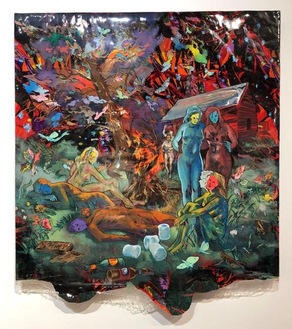 , 'Kentucky Bats,' 2018, Gallery Victor Armendariz