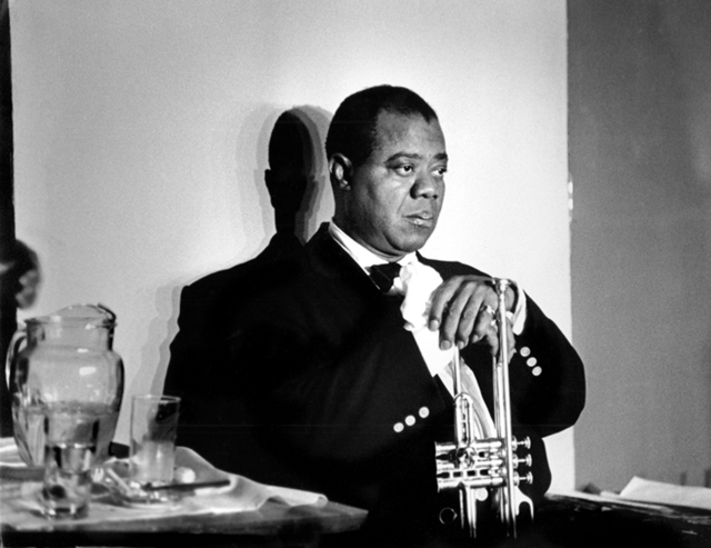 , 'Louis Armstrong, Paris,' 1960, Robert Mann Gallery