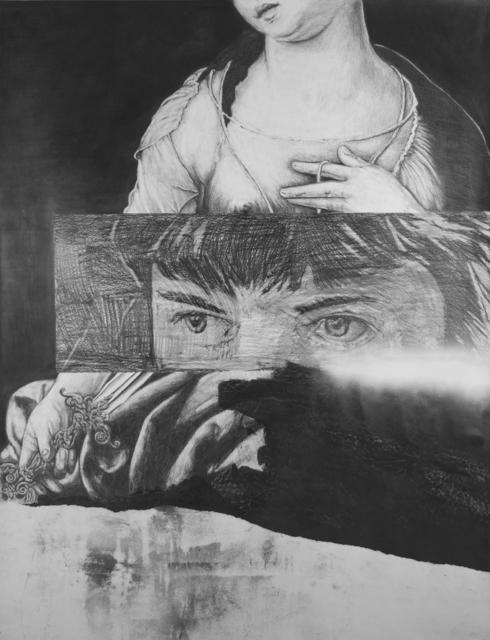 """Frédéric Malette, '""""Que les loups vivent le vent"""" #5', 2019, Galerie Catherine Putman"""