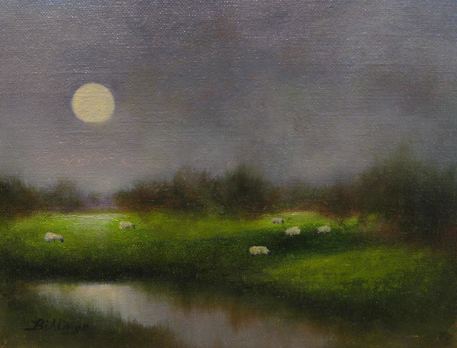 Penny Billings, 'Grazing By Moonlight', 2019, Handwright Gallery