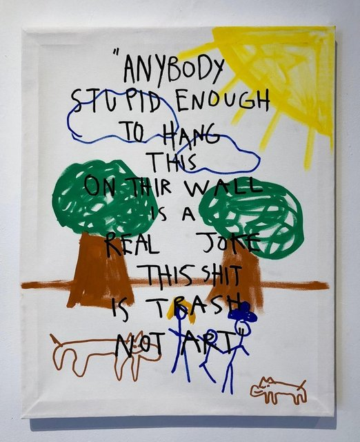 , 'Trash not Art,' 2018, Krause Gallery