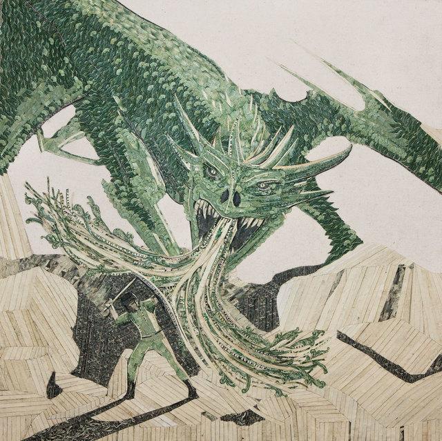 , 'The Dragon,' 2013, Lois Lambert Gallery