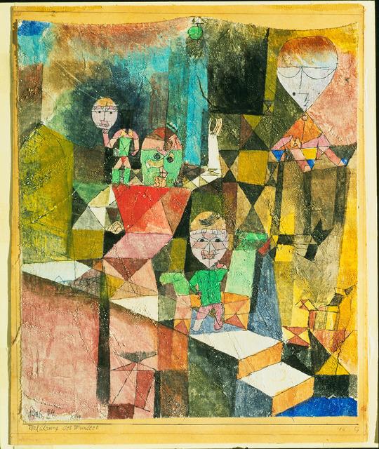 , 'Présentation du Miracle,' 1916, Centre Pompidou