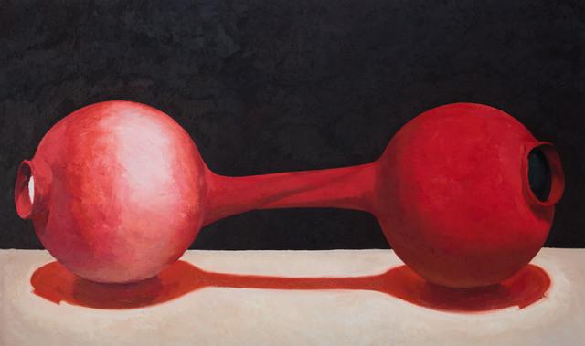 , 'Black. White. Red.,' 2015, MadeIn Gallery