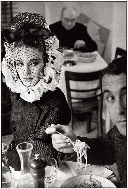 Frank Horvat, 'Rome, for Harper's Bazaar, High Fashion with Deborah Dixon A', 1962, °CLAIR Galerie