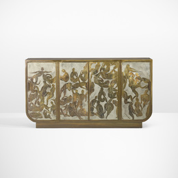 Philip and Kelvin LaVerne, 'Rare and Important Bather's cabinet,' c. 1968, Wright: Design Masterworks