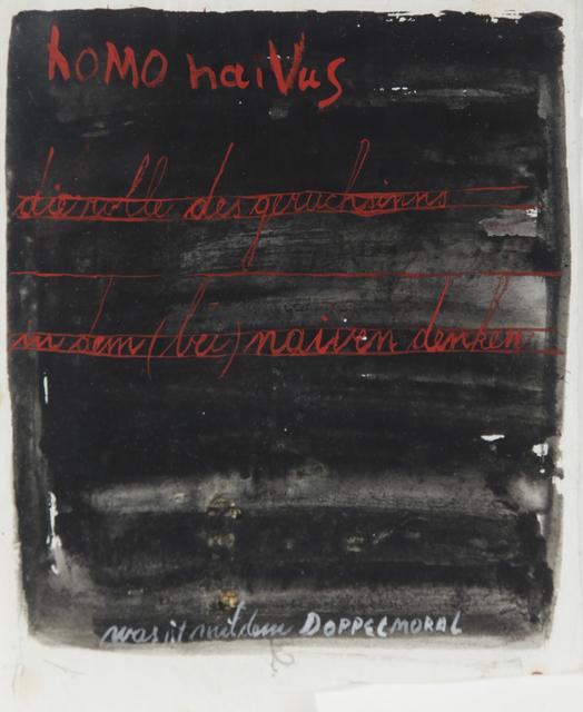 , 'HomonaiVus,' 1971-1977, Aanant & Zoo