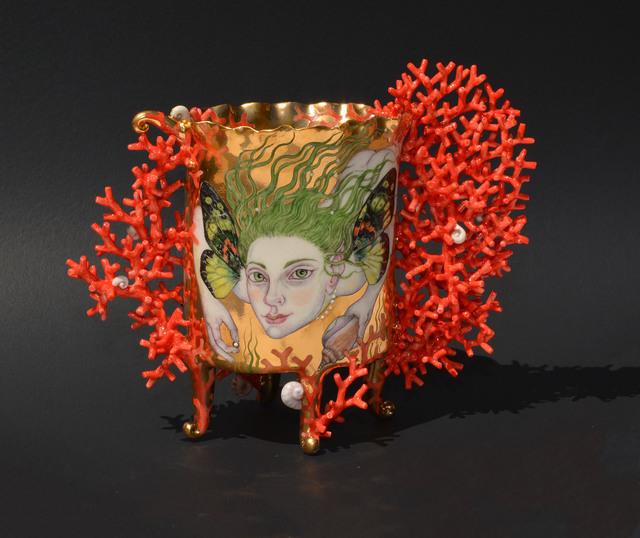 , 'Butterfly Mermaid,' 2018, Duane Reed Gallery