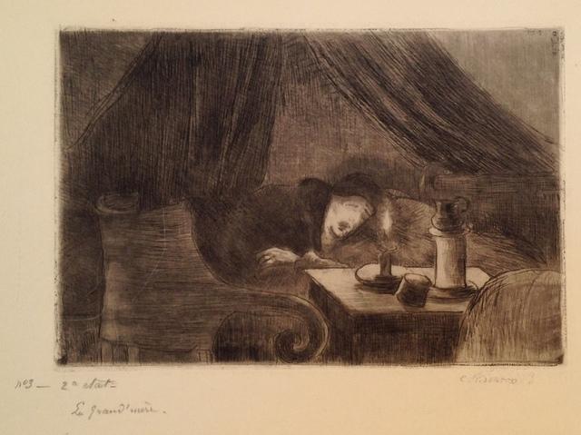 Camille Pissarro, 'Grand-mere (effet de lumiere)', 1889, Harris Schrank Fine Prints