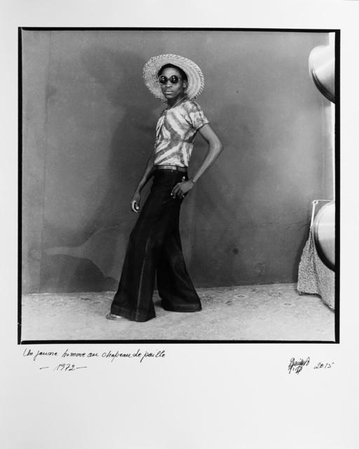 , 'Un jeune homme au chapeau de paille,' 1972, Magnin-A