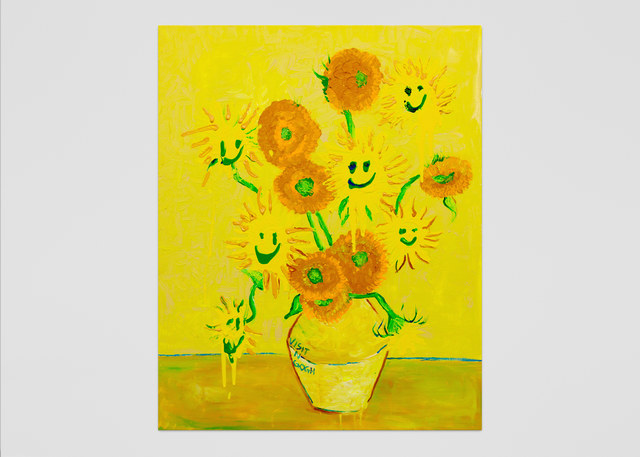 Vernon O'Meally, 'Visit-n-Gogh (Yellow)', 2018, ABXY