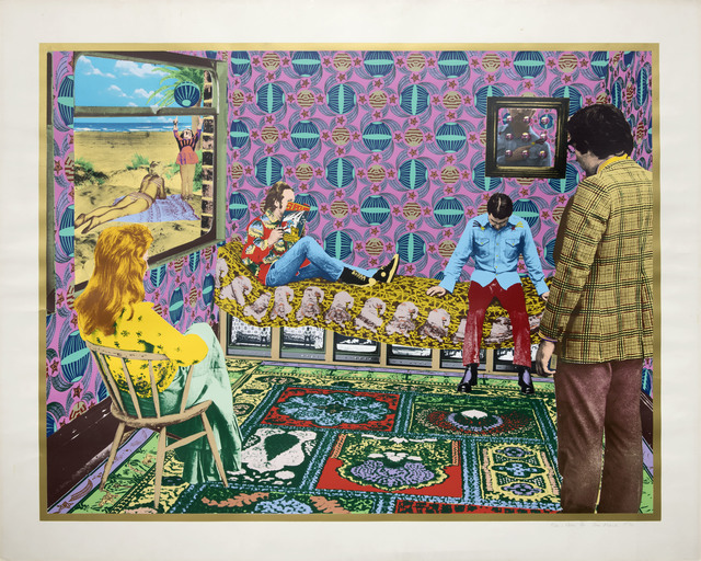 Tim Mara, 'Alan's Room ', 1974, Flowers