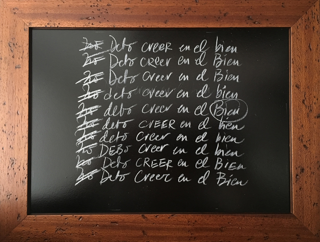 , 'DEBO CREER EN EL BIEN,' , saltfineart