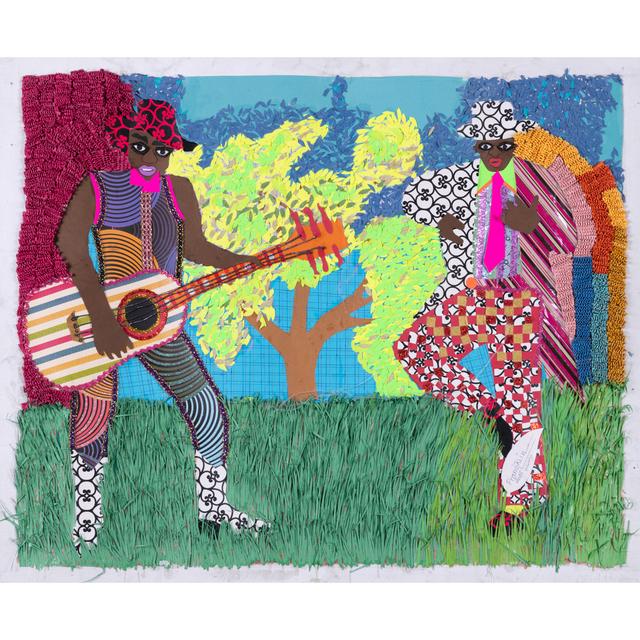 Franklin Mbungu Wabonga, 'Musicien', 2015, PIASA