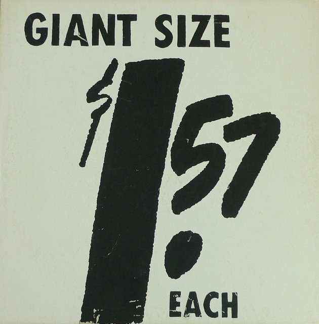 Andy Warhol, '$1.57 Giant Size', 1963, Bengtsson Fine Art