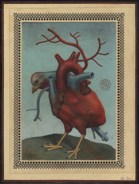 , 'Bird Heart Creature,' 2017, Black Book Gallery