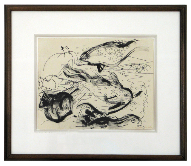 Malcolm Morley, 'Untitled, Fish', ca. 1990, Woodward Gallery