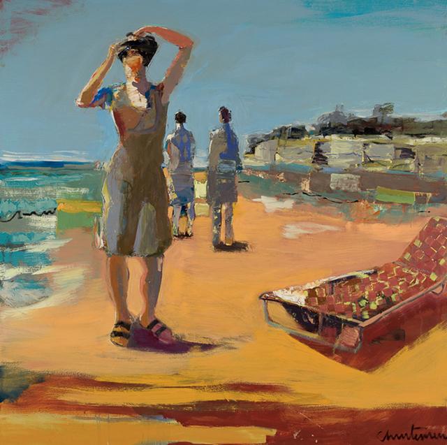 , 'Capitola Cliffs,' 2014, Sue Greenwood Fine Art