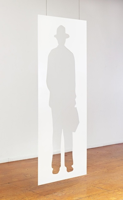 , 'Man with a Briefcase,' 2012, Gemini G.E.L. at Joni Moisant Weyl