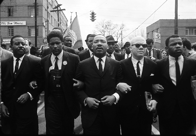 , 'Martin Luther King, Jr. with Group (Forman, Abernathy, Douglas, Lewis) ,' 1965, Jackson Fine Art