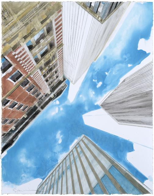 , 'New York d'en bas II,' 2016, Galerie Arcturus