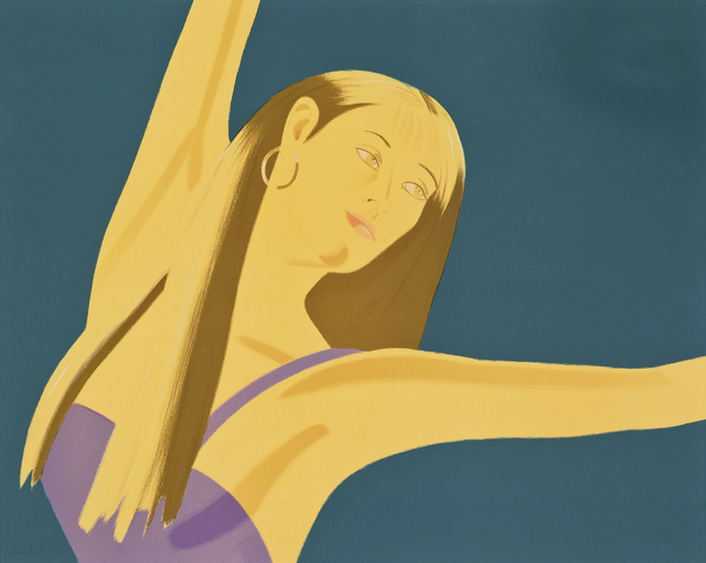 Alex Katz, 'Night : William Dunas Dance 4 (Pamela)', 1983, Print, Lithograph, Seoul Auction